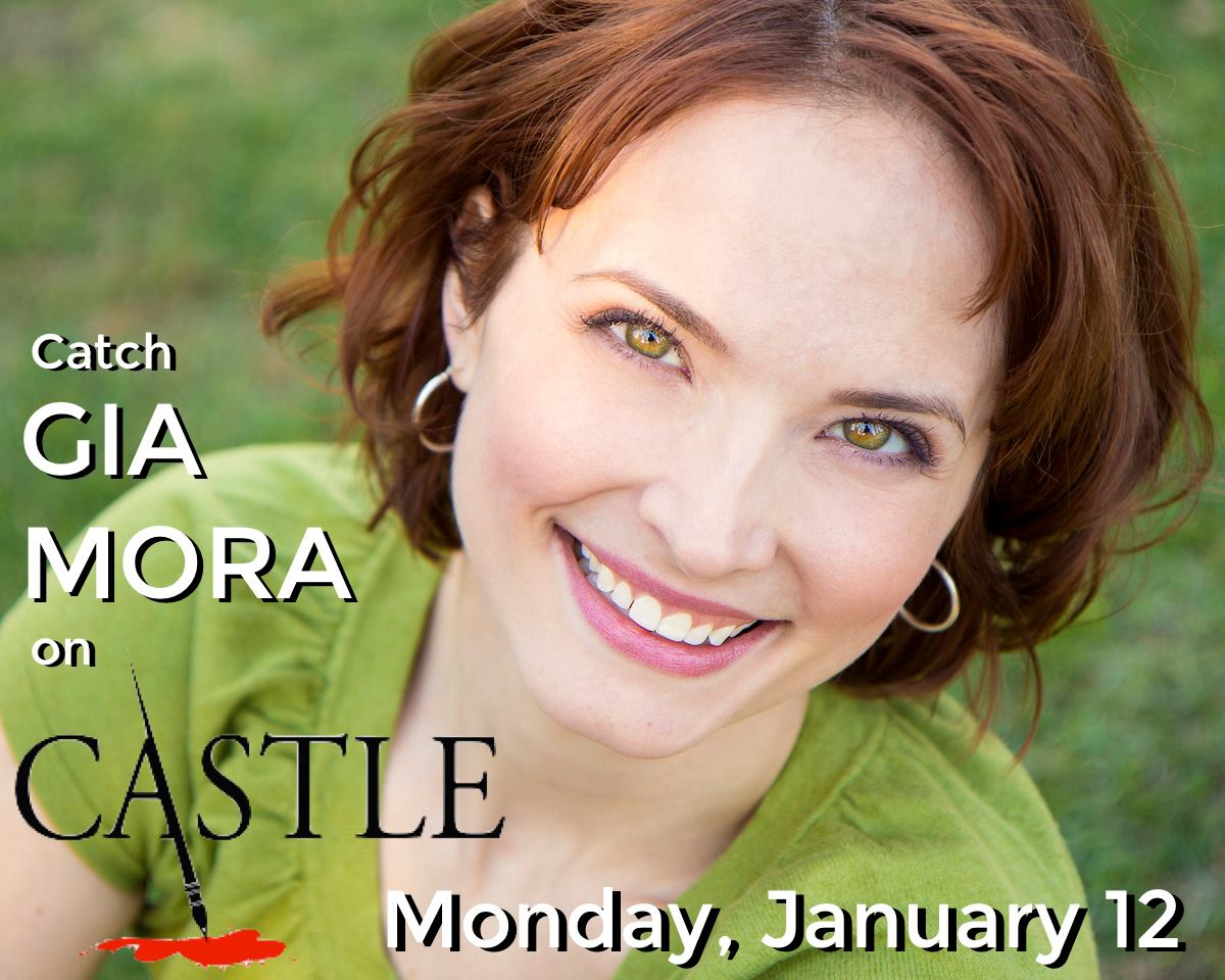Gia Mora on CASTLE