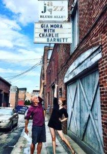 Gia Mora & Charlie Barnett at Blues Alley
