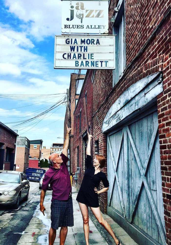 Gia Mora & Charlie Barnett at Blues Alley