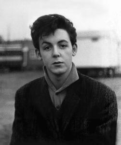 Paul McCartney, circa 1958