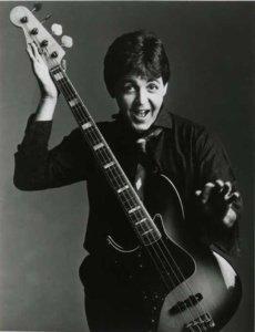 Paul McCartney, circa 1983